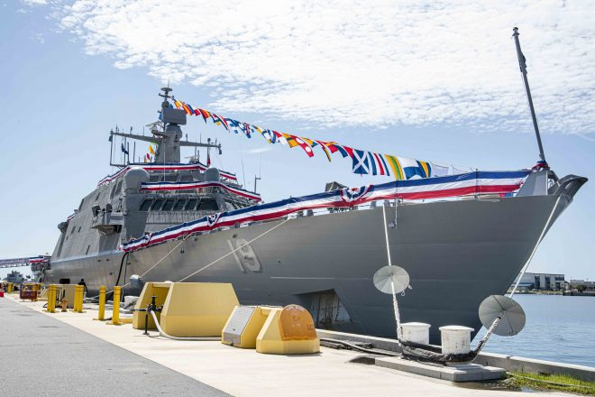VIDEO: Littoral Combat Ship USS St. Louis Commissioning Ceremony