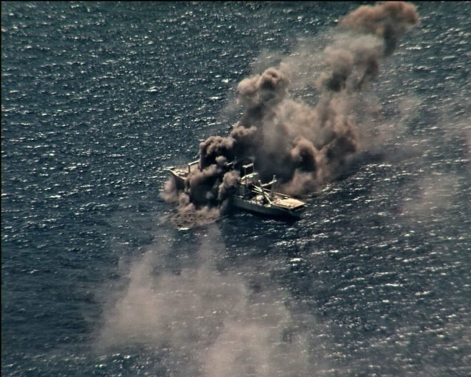 VIDEO: RIMPAC 2020 Exercise Wraps Up After Sinking Former U.S. Warship