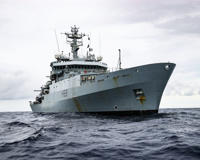 U.K. Royal Navy Dispatching Survey Ship to Aid in Lebanon Crisis, CENTCOM Sending Supplies