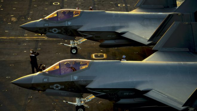 VIDEO: USS Carl Vinson Preparing for First F-35C, 'Advanced Carrier Air Wing' Deployment