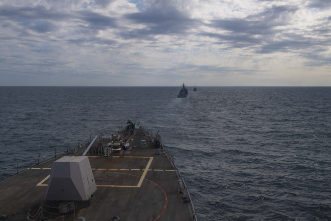 U.S., Ukrainian Navies Conduct Drills in the Black Sea