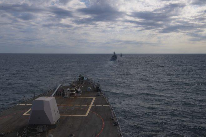 U.S., Ukrainian Navies Conduct Drills in the Black Sea