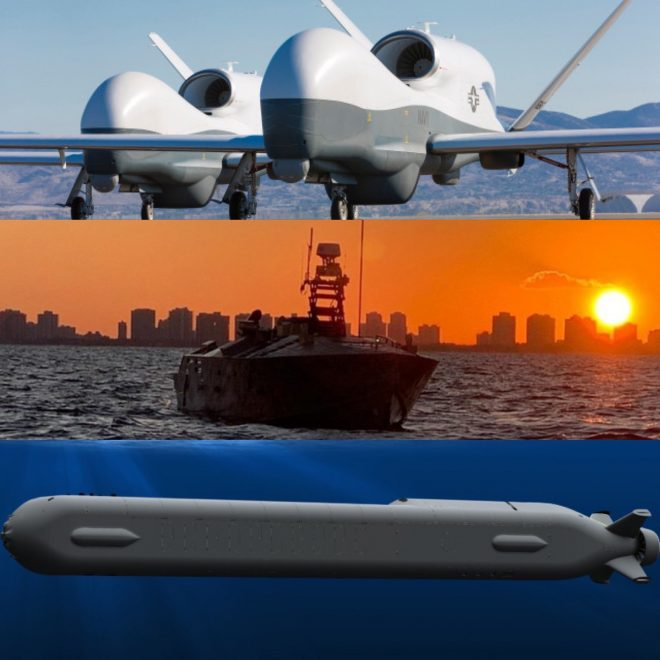 Navy Developing Unmanned Systems Network Key to New Campaign Plan