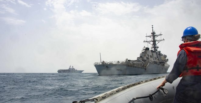 Destroyers USS Stout, USS Kidd Wrap Up Long-Haul Deployments