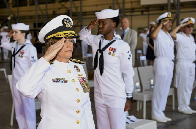 Vice Adm. Franchetti Nominated for Joint Staff Role After Brief Time at N7