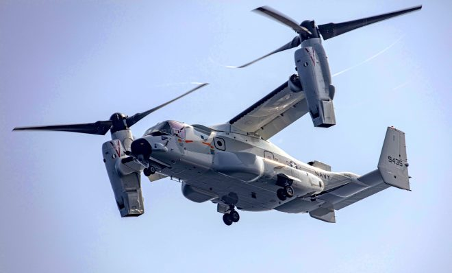 Sailors Get Experience with Marine MV-22s Before Operating First Navy Ospreys