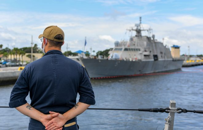 Littoral Combat Ship USS Sioux City Joins SOUTHCOM Anti-Drug Mission in First Deployment