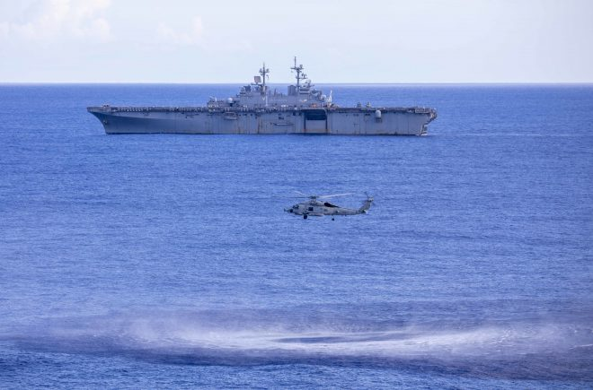 Navy Sharpening Anti-Submarine Warfare Skills in Black Widow Exercise