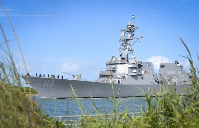VIDEO: Navy Commissions Destroyer Delbert D. Black in Cape Canaveral