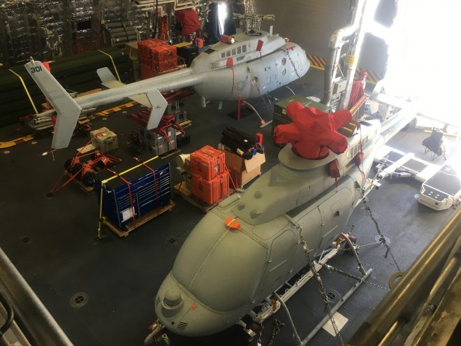 Navy Fielding MQ-8C Fire Scout to Operational Squadrons Ahead of Deployment Next Year