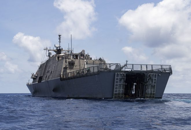 Littoral Combat Ship USS Detroit Towed Into Port After Losing Power While Already En Route for Repairs