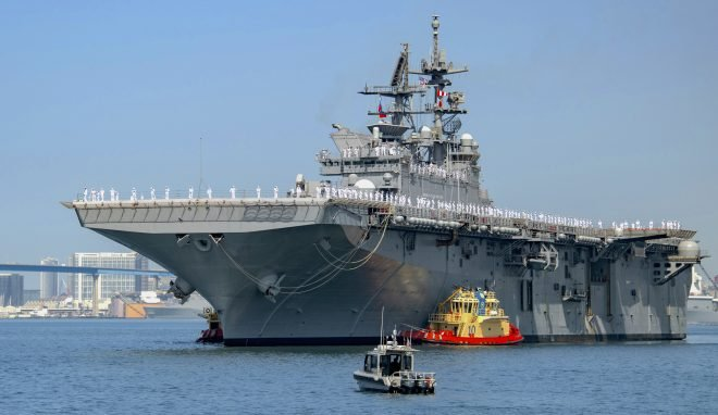Report to Congress on LPD-17 Flight II, LHA Amphibious Warship Programs
