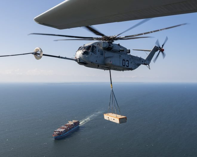 Marine Corps Conducting Fleet Flight Tests of CH-53K Ahead of IOT&E This Summer