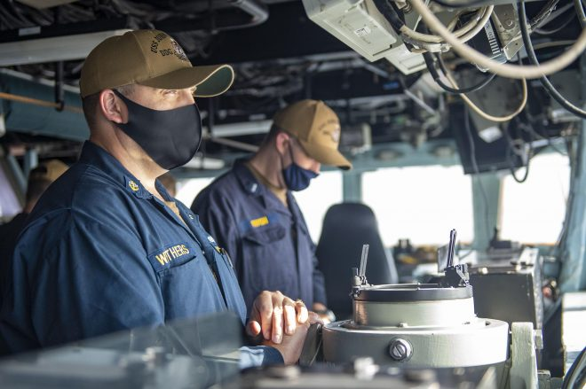 Navy Retools COVID Rules for Ships After 6 Months of Practice