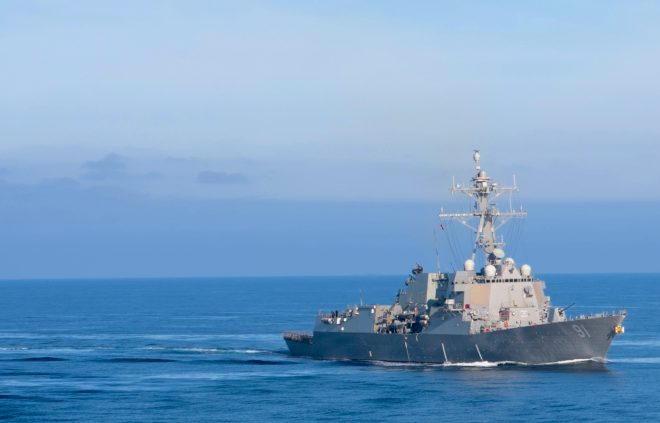 Destroyer USS Pinckney Pulls into San Diego After Extended Deployment