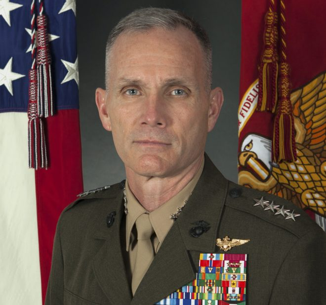 Marine Corps Second-in-Command Tests Positive for Coronavirus