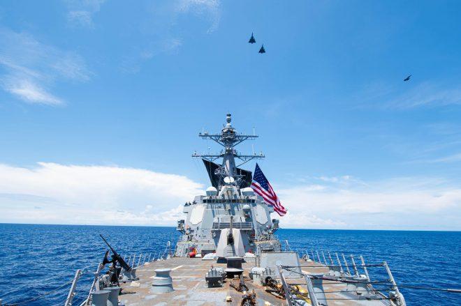 Navy Destroyer Performs Freedom of Navigation Operation Off Venezuelan Coast