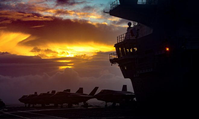 U.S., U.K. Navies Working to Achieve 'Interchangeability' in Carrier Forces, Collaboration on Unmanned and AI