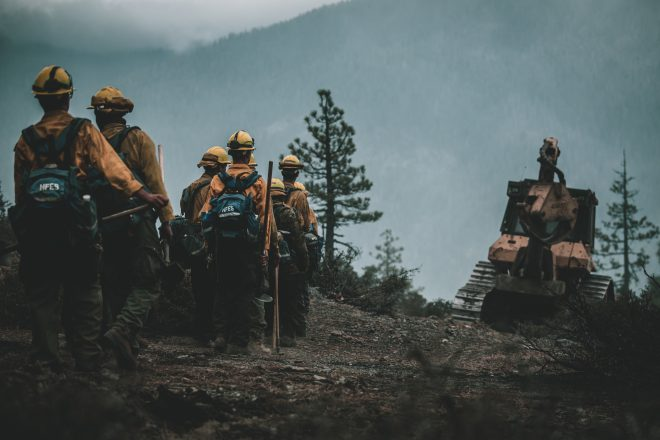 Marines, Sailors 'Put Stamp On' Marine Corps Support for Wildland Fire Missions in California