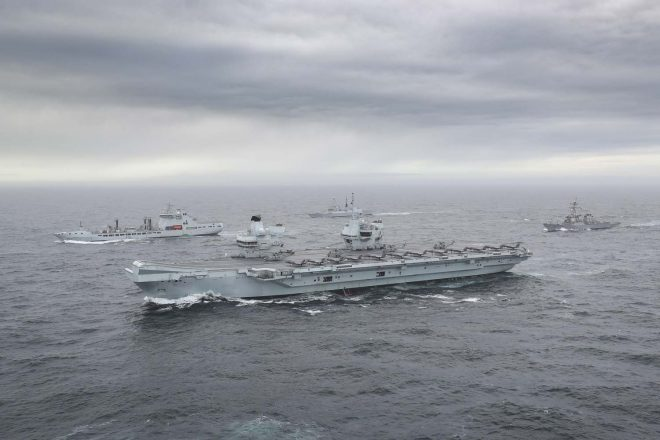 VIDEO: HMS Queen Elizabeth Strike Group Assembles