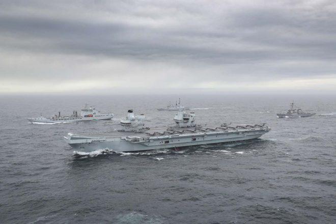 VIDEO: HMS Queen Elizabeth Strike Group Assembles