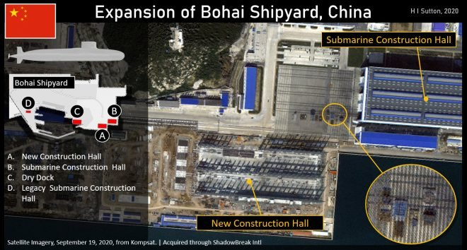 Chinese Increasing Nuclear Submarine Shipyard Capacity
