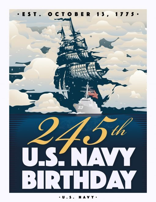 VIDEO: Navy's 245th Birthday Message