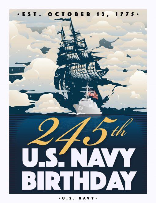 VIDEO: Navy's 245th Birthday Message