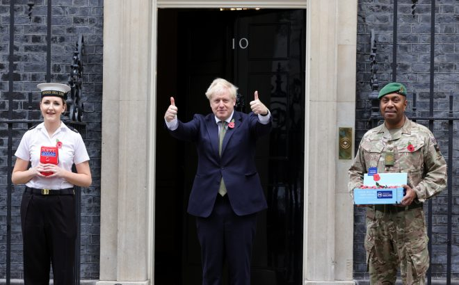U.K. Prime Minister Boris Johnson Pledges $32B Military Build-Up