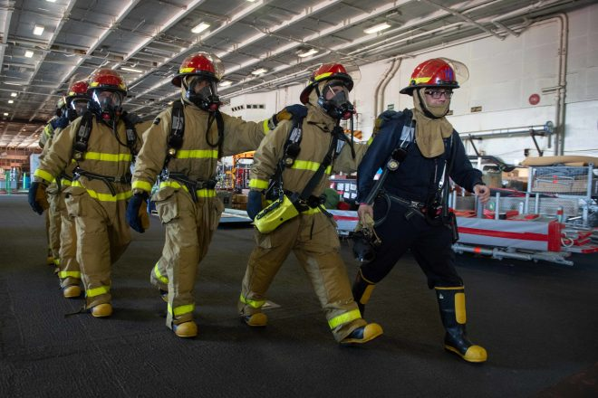 Navy Board Set to Improve Fire Safety After Report Finds Sailors 'Unprepared to Fight Blazes in Port
