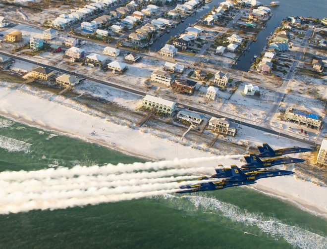 VIDEO: Blue Angels Fly Legacy Hornets For Last Time
