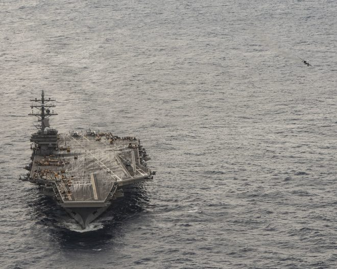 Japan-Based Carrier USS Ronald Reagan Wraps Up Record Patrol; Nimitz in 7th Fleet