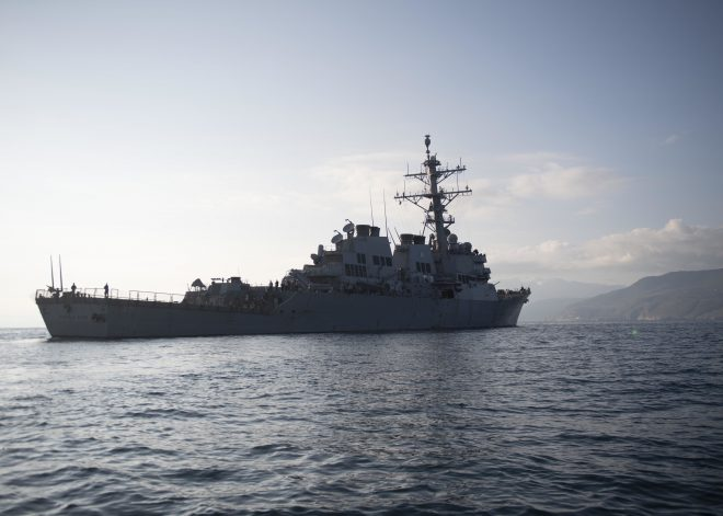 Destroyer USS Donald Cook Now Operating in the Black Sea