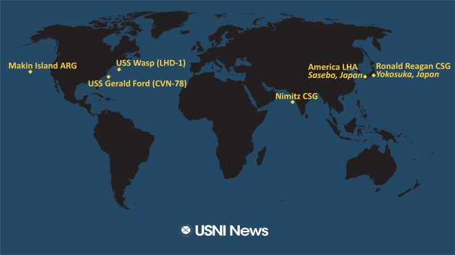USNI News Fleet and Marine Tracker: Nov. 16, 2020