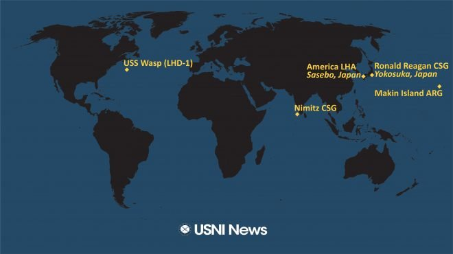 USNI News Fleet and Marine Tracker: Nov. 23, 2020