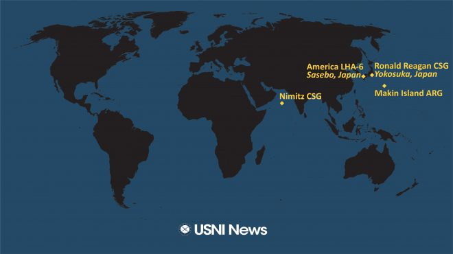 USNI News Fleet and Marine Tracker: Nov. 30, 2020