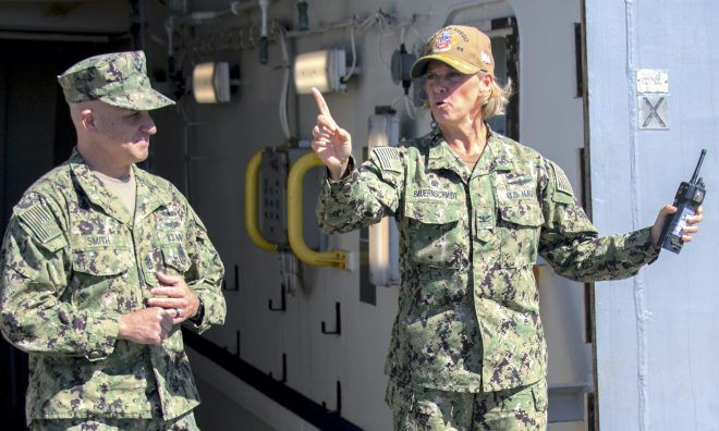 First Female Nuclear Carrier CO Will Command USS Abraham Lincoln