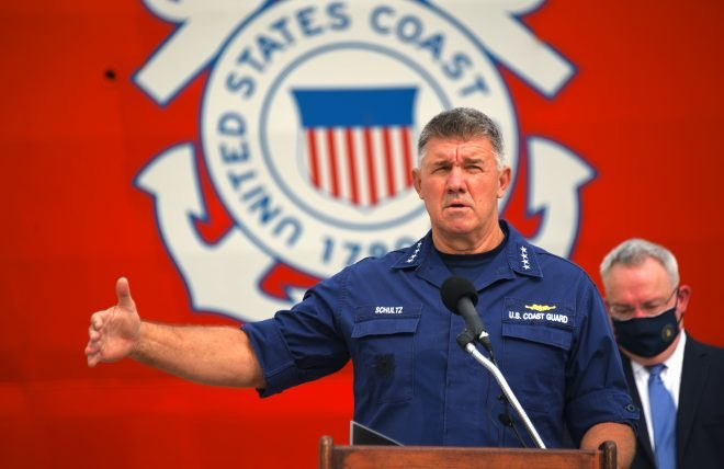Schultz: Upcoming Coast Guard Budget Has 'Dollars For People' Focus