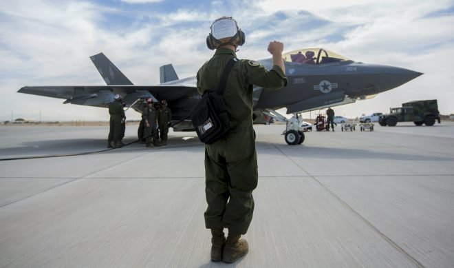 First Marine Corps Carrier-Capable F-35C Squadron Now Ready to Deploy