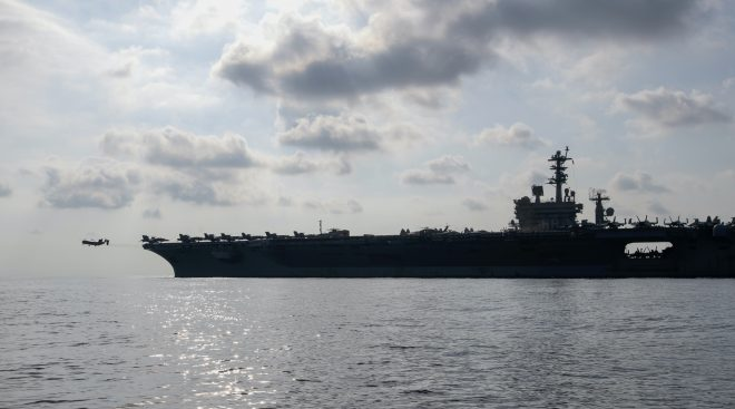 U.S. Aircraft Carrier, 2,500 Marines Off the Coast of Somalia as Pentagon Repositions Forces in Africa