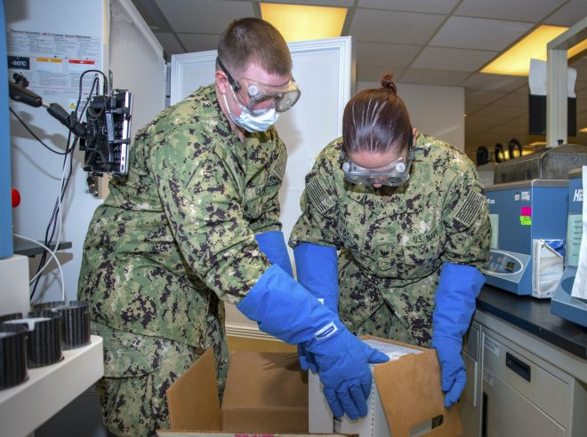 Naval Medical Center San Diego Gets Service's First COVID-19 Vaccines