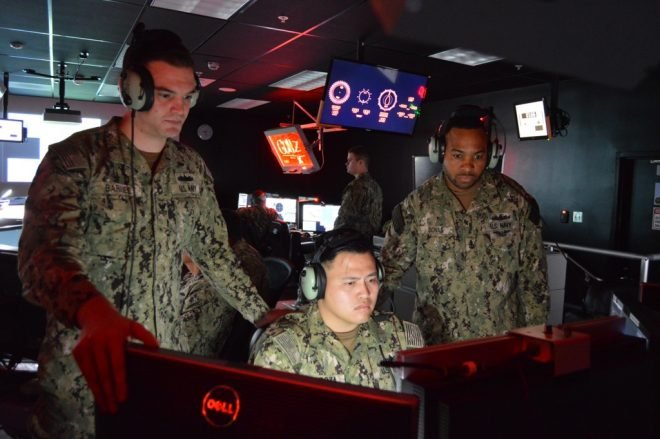 VIDEO: Navy Expanding Use of Virtual Trainers for Surface Ship Crews