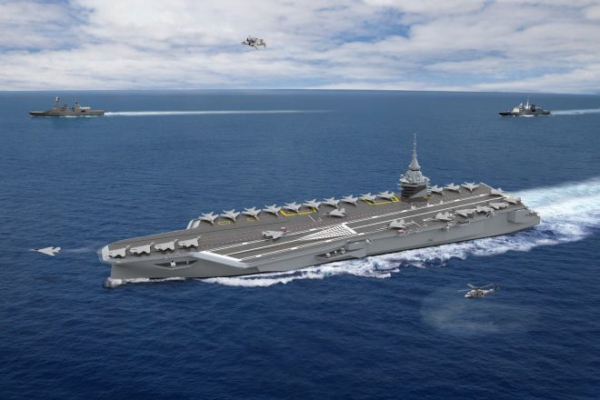 President Macron Announces Start of New French Nuclear Aircraft Carrier Program
