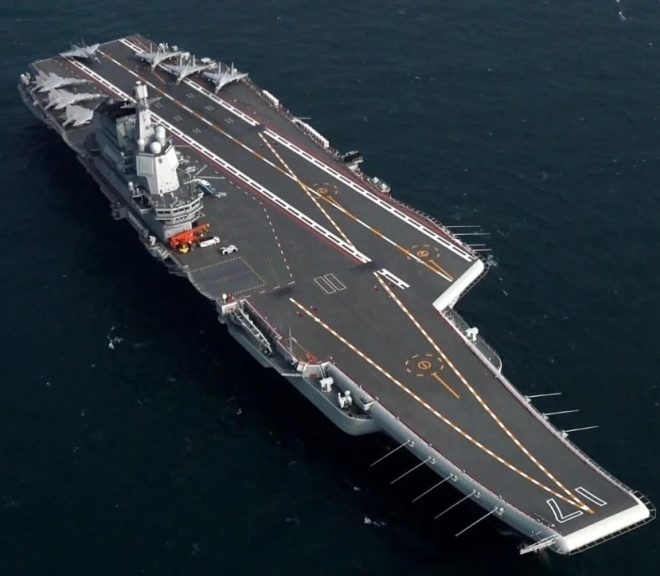Destroyer USS Mustin Transited Taiwan Strait, Chinese Aircraft Carrier Followed