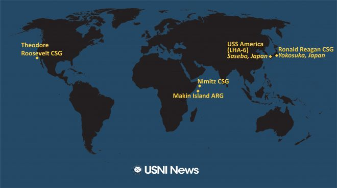 USNI News Fleet and Marine Tracker: Dec. 21, 2020