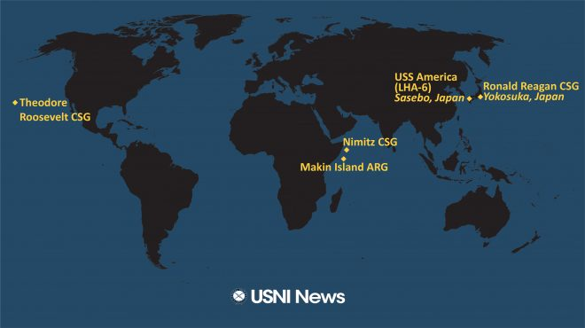 USNI News Fleet and Marine Tracker: Dec. 28, 2020