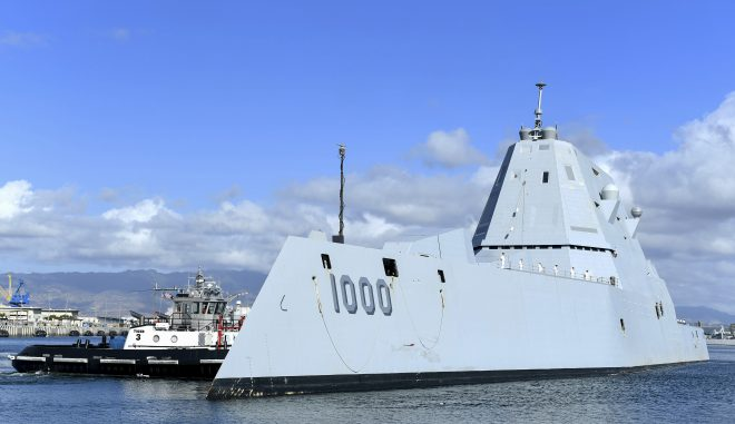 Navy Integrating Unmanned Surface Vessels, Zumwalt DDGs Into Fleet Battle Problem Exercise