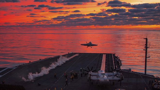 CNO: Pentagon Force Posture Review Will Inform Future Carrier Missions, Arctic Presence