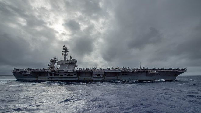 Theodore Roosevelt Strike Group CO: Interactions with Chinese Navy Not Changing Significantly