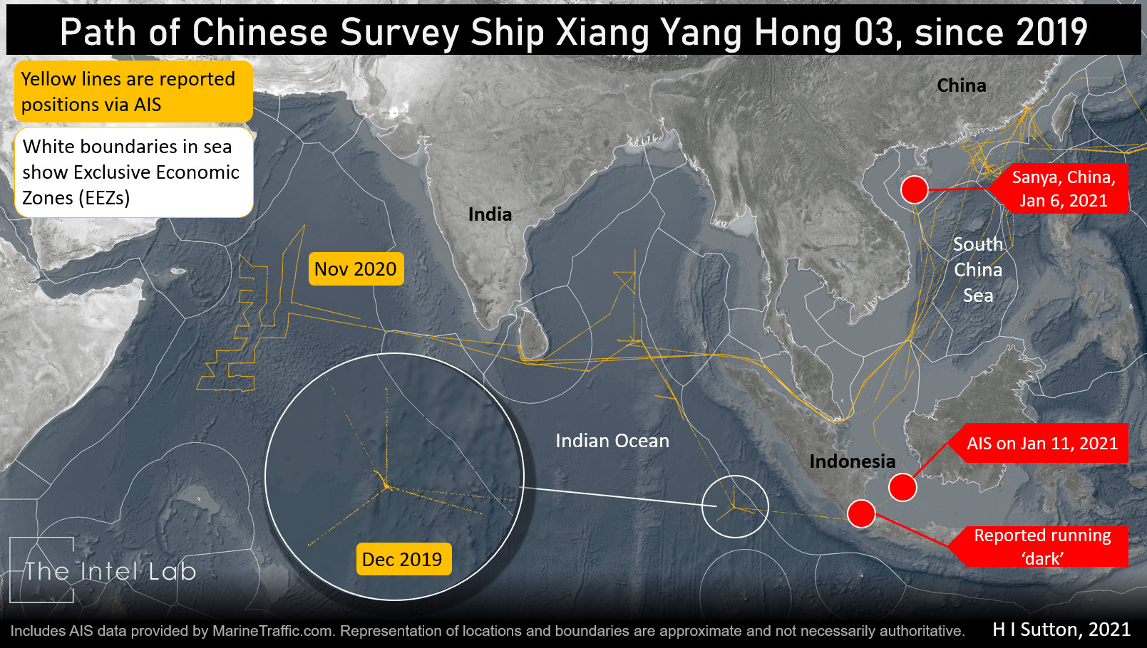 Chinese Survey Ship Caught 'Running Dark' Give Clues to Underwater Drone Operations - USNI News